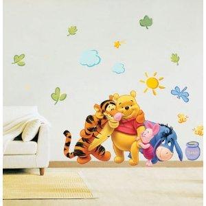 disney winnie the pooh wandsticker wandtattoo On wandtattoo winnie pooh baby