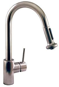 Hansgrohe Talis S High Arc Pull-Out Kitchen Faucet