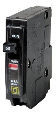 Square D By Schneider Electric Qo150Cp Qo 50 Amp Single-Pole Circuit Breaker