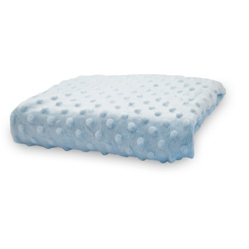 Rumble Tuff  Minky Dot Changing Pad Cover, Blue,Standard
