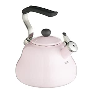 Kitchen Craft Le'Xpress Coloured Whistling Kettle 2.0 Litres - 'Simply Pink'