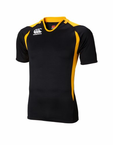 Canterbury Challenge Jersey, Black/Gold, XXX-Large