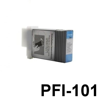 INKSTORE - kompatible Tintenpatron - Foto CYAN fur Canon Imageprograf Ipf5000