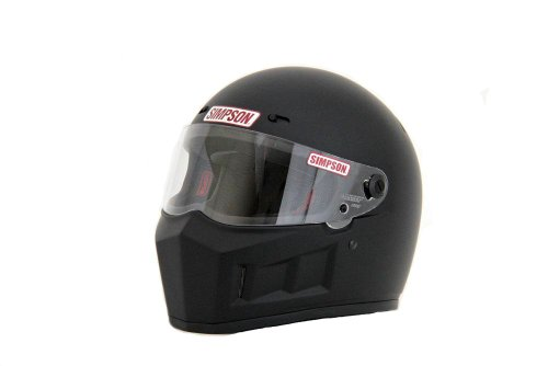 SIMPSON(シンプソン) バイクヘルメット フルフェイス SUPER BANDIT 13 マットブラック 57cm