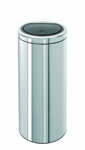 brabantia-touch-bin-461903-push-bin-30-l-plastic-interior-flat-lid-high-gloss-stainless-steel