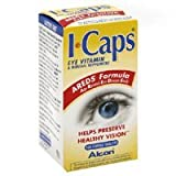 ICaps AREDS Formula Eye Vitamin & Mineral Tabs, 120 ct