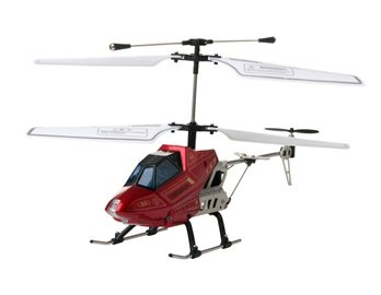 815A 3.5-Channel Aluminium Alloy RC Helicopter (Red)