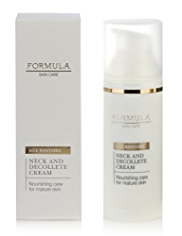 Formula Skin Care Age Restore Neck & Decollete Cream 50ml