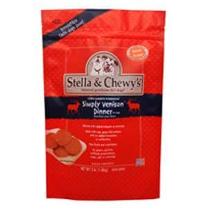 Stella & Chewy's Frozen Simply Venison Dinner for Dog, 3