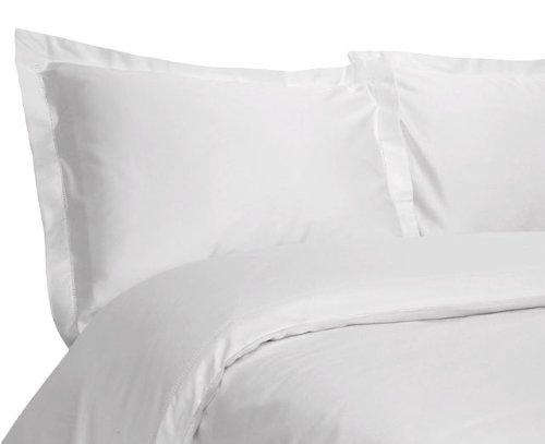 Tuxedo Stripe 450-Thread-Count Luxurious Pure Cotton Sateen 3-Piece Duvet Cover Set