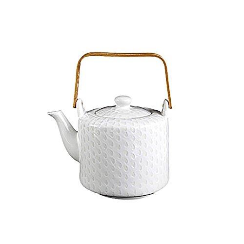 ASA 90800071  Porzellan Teekanne 19 x 13 x 13,50 cm, weiß