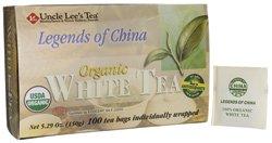 Uncle Lees China Organic Tea Bags White Tea