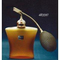 フランス製クリスタル香水瓶 クリスタルアンバー 483597