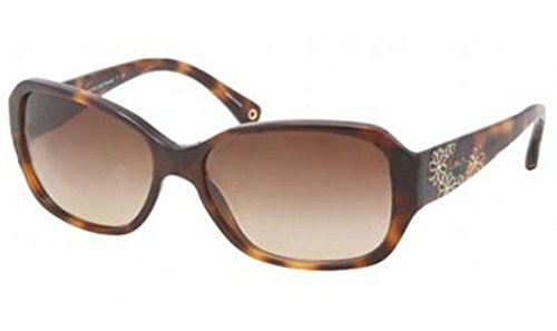 Coach Hc 8011B(L022 Reese) Brown Frame/Brown Gradient Lens 57Mm