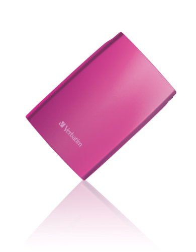 Verbatim 53010 500GB USB 2.0 - 2.5 inch External Hard Disk Drive - Pink