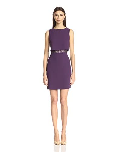 Marc New York Women's Crepe Sleeveless Popover Dress