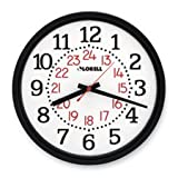 Lorell Products - Military Wall Clock, 14-3/4