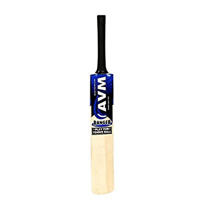 AVM Ranger Kashmir Willow-Sh Ranger Kashmir Willow Cricket Bat Size-Full(Multicolor)