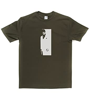 Al Pacino T-shirt (Small Olive/white)