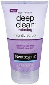 Neutrogena Deep Clean Relaxing Gentle Scrub - 4.2oz