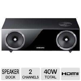 Samsung DA-E670 2.1 Channel 40-Watt Dual Audio Dock (Samsung Vacuum Tube compare prices)