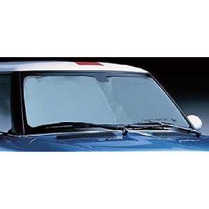 【クリックでお店のこの商品のページへ】BMW MINI サンシェード R53 R56 R55 フロントウインドーサンシェード 収納袋付・簡単取付・防炎加工・遮光効果・覗き見防止 紫外線約90%以上カット 純正: カー&バイク用品