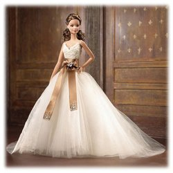 Barbie Designer Collection - Monique Lhuillier Bride Barbie Doll