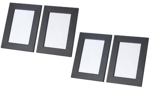 IKEA NYTTJA Frame 5x7 BLACK (Set of 4 Frames) - coconuas45