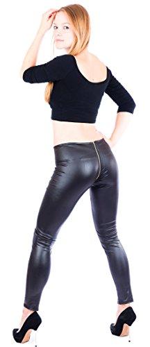 verführerische Clubwear-Leggings * S M L XL * mit Reißverschluß