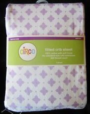 Circo Fitted Crib Sheet Purple Medallion - 1