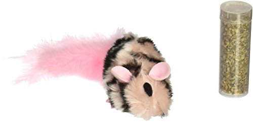 Picture KONG Field Mouse Catnip Toy, Cat Toy, Pink