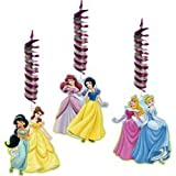 Disney Princess Party Decorations- Dangling Cut Outs - 3 Count