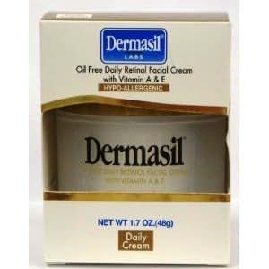 Dermasil Oil Free Daily Retinol Facial Cream With Vitamin A & E 1.7 oz.
