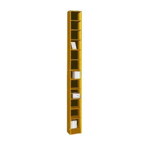 Cd and dvd extra tall storage tower rack oak finish new ebay - Cd storage rack tower ...