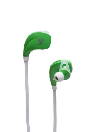 Life N Soul B106-G Bluetooth Sport Earphones, Green