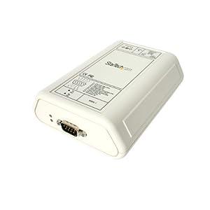 StarTech.com 1-Port RS232 Serial over IP Ethernet Device Server (NETRS232_1) by STARTECH.COM