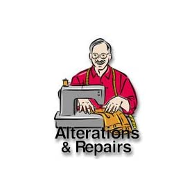 "Sign / Static Cling Service ""Alterations & Repairs"""