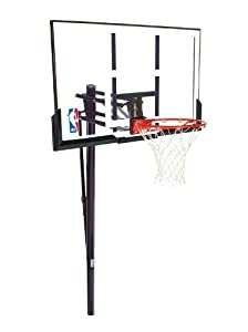 Buy Spalding Inground 52-Inch Acrylic Basketball System by Spalding