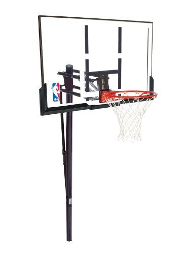 Spalding 52-Inch In-Ground Basketball System with Acrylic Backboad