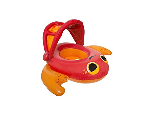 SwimWays Sun Canopy Baby Boat (Crab) - 1