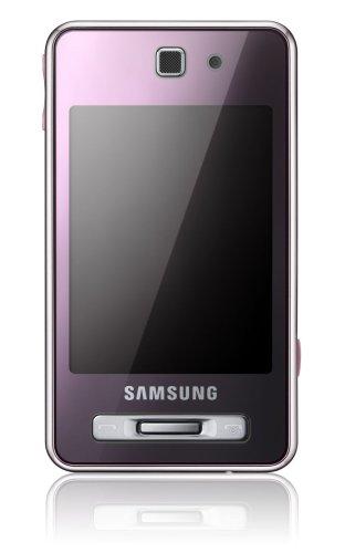 Samsung SGH-F480 Smartphone (Touchscreen, 5MP Kamera, UMTS, HSDPA) coral pink