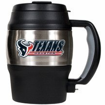 Nfl Houston Texans 20-Ounce Mini Travel Jug front-601313