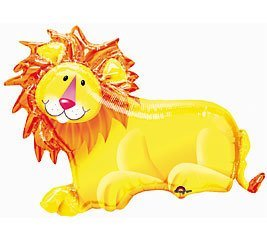 Jungle Party Lion Super Shape Balloon (1 ct) - 1
