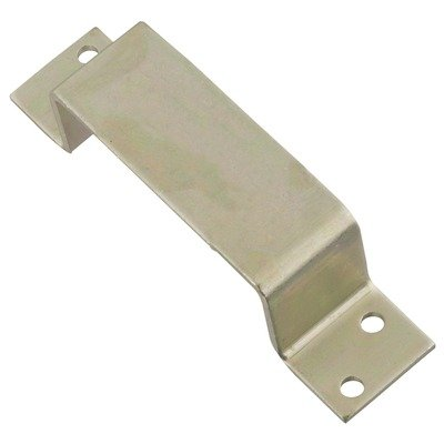 National Hardware Spb15 Open Bar Holder, Zinc front-758401