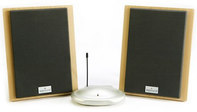 AQ Wireless Speakers - Beech