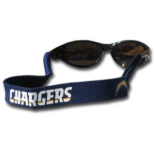 NFL San Diego Chargers Neoprene Sunglass Strap, Blue