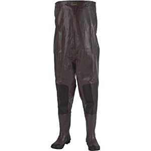 Stearns 2-Ply Rubber Chest Wader with Cleated Soles