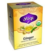 Yogi Tea Ginger Organic Caffeine Free - 16 Tea Bags, Pack of 12 (image may vary) by Yogi Tea