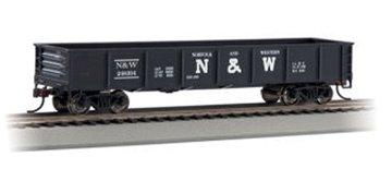 Bachmann Trains Norfolk And Western 40' Gondola Car-Ho Scale
