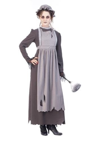 Ghost Maid Costume for Women